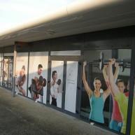 Salle de sport – Extérieur